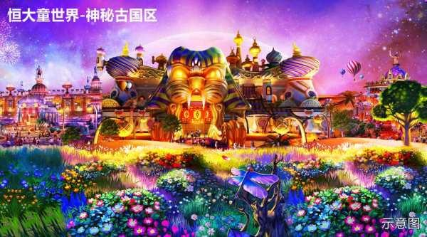 紫东恒大文化旅游城效果图
