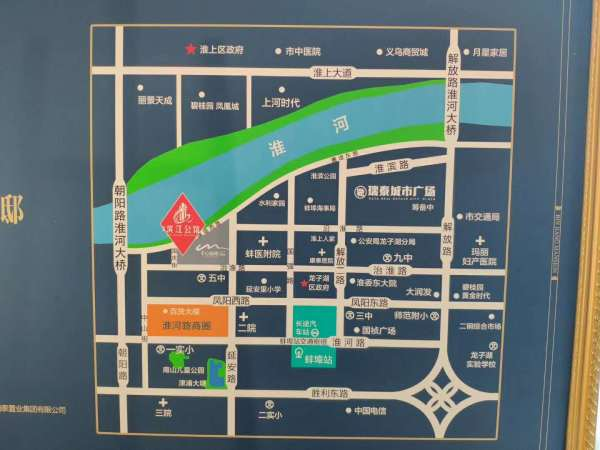 瑞泰滨江公馆区位图