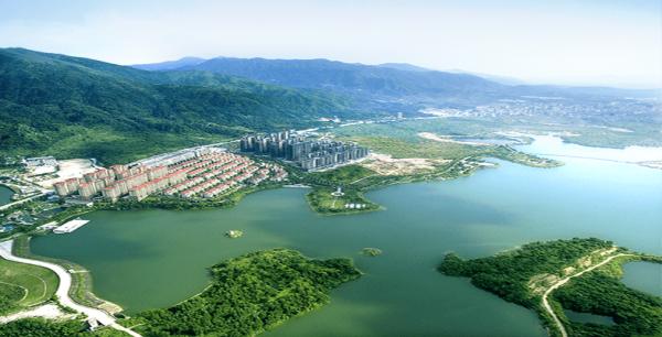 星河明珠湾实景图