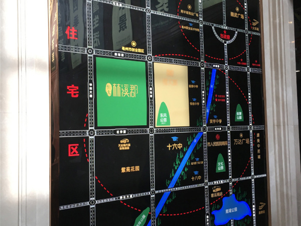 亳州恒大林溪郡区位图