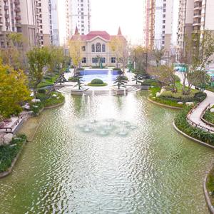 淮北恒大中央公园实景图