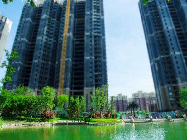 蚌埠恒大滨河左岸项目现场