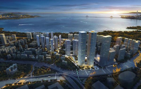 中洲滨海商业中心效果图