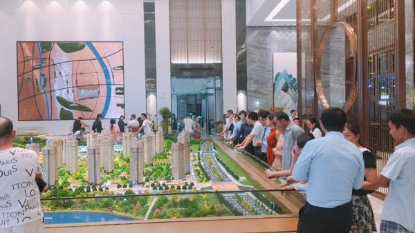 湖南建工·东玺台项目现场