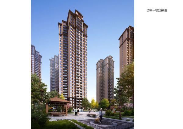 湖南建工·东玺台效果图