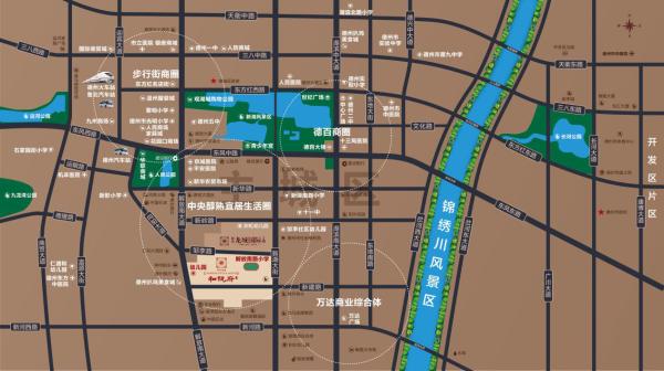 双企·龙城和悦府区位图