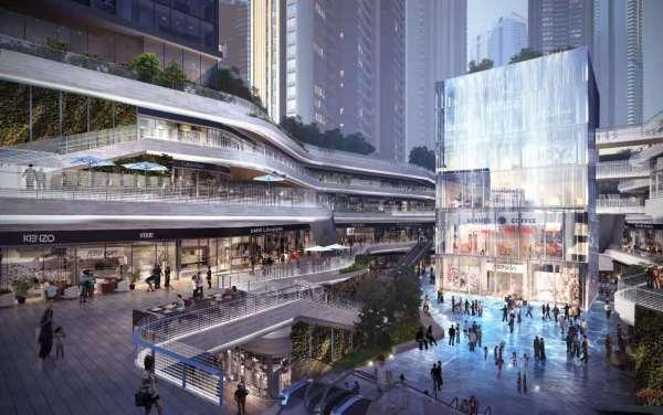 中洲滨海商业中心小区配套