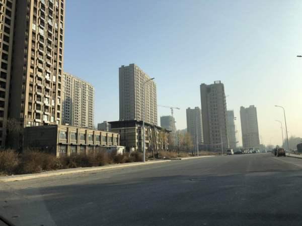 大运河孔雀城时代锦悦实景图