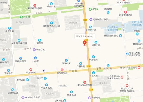 远洋光华城区位图