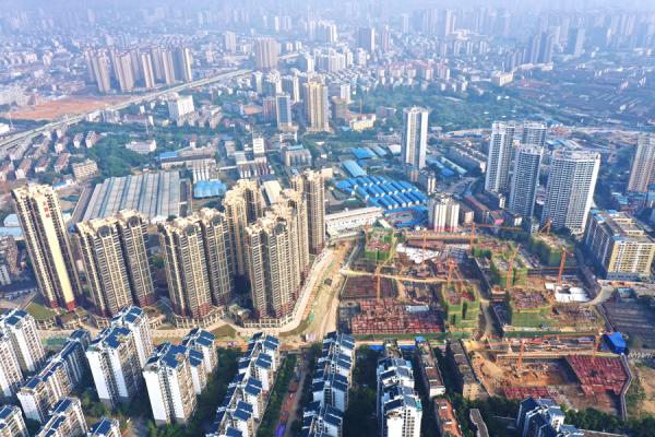 南宁天健城实景图