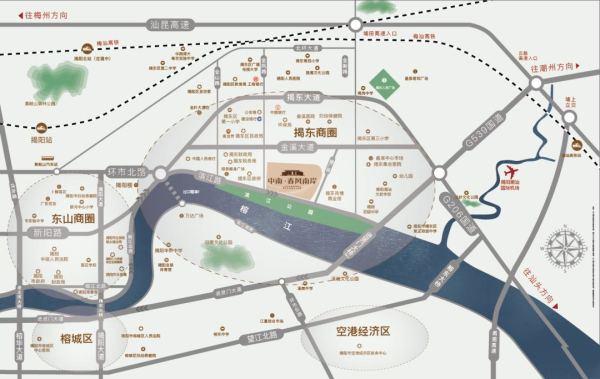 中南春风南岸效果图