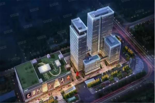 滨州欧亚达家居商业广场效果图