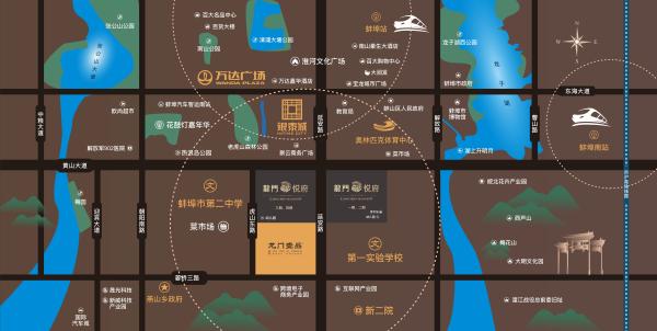 新威龙门悦府区位图