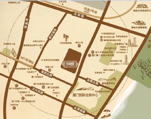 华尔顿1275区位图