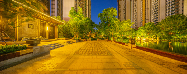 揭阳恒大中央公园实景图