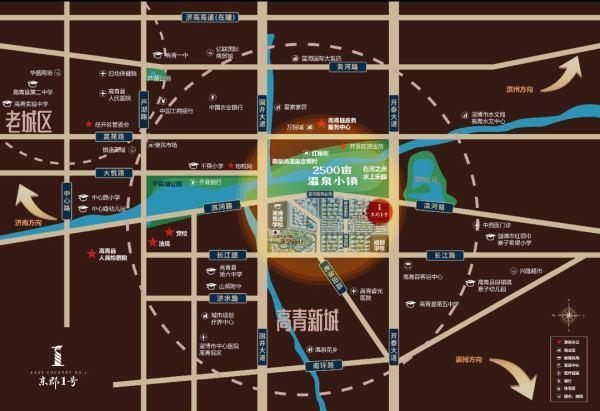 东郡1号区位图