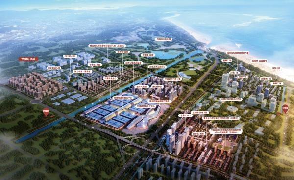 中铁青岛世博城区位图