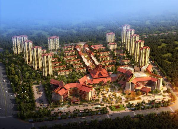 齐河东盟国际生态城效果图