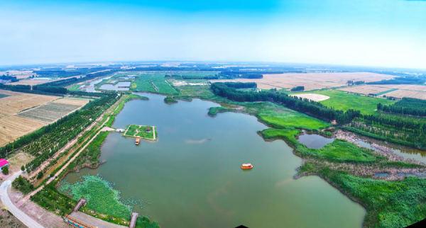 齐河东盟国际生态城实景图