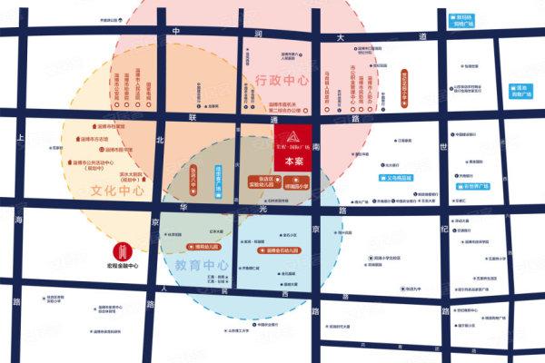 淄博宏程国际广场效果图