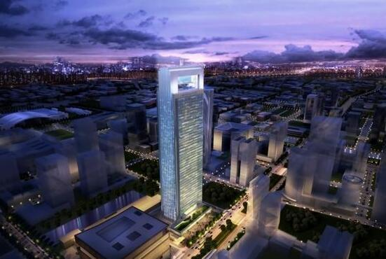宁波环球航运广场效果图