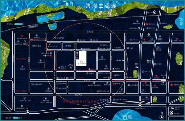 保利锦悦和府区位图