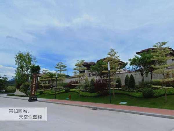星汇翠峰花园实景图