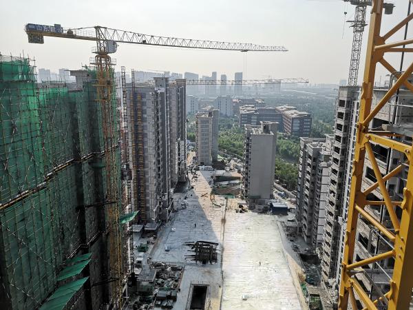 济南鲁坤天鸿·创谷项目现场
