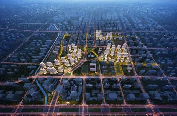 济南中建蔚蓝之城效果图