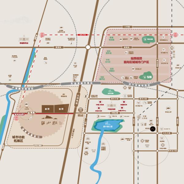 安联江山樾区位图