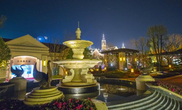 武汉恒大文化旅游城实景图