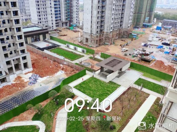 中建咸宁之星项目现场