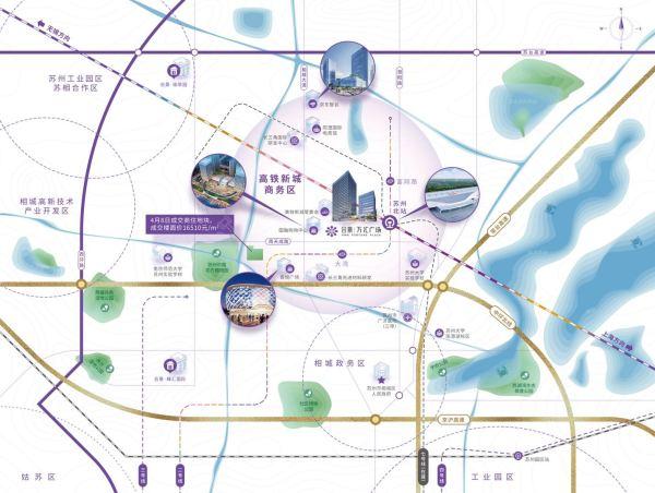 合景万汇大厦区位图