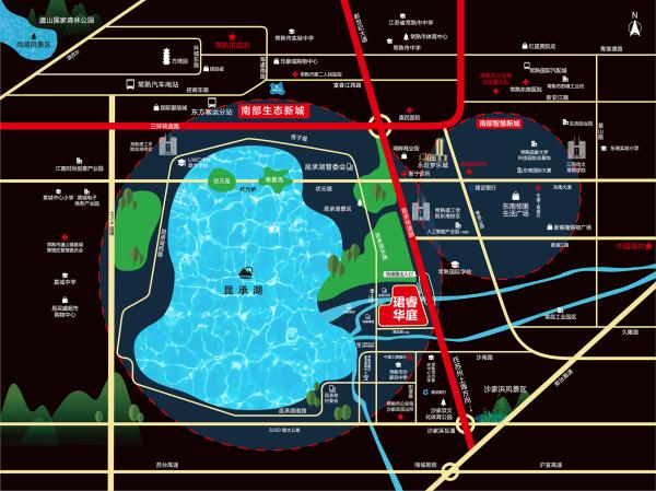 恒大悦澜湾区位图