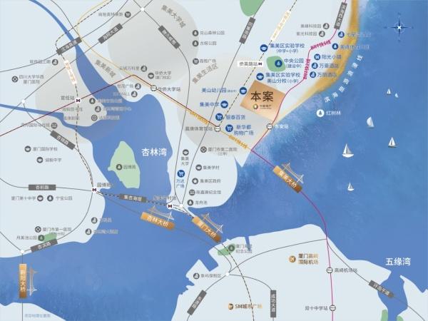 中旅海玥区位图