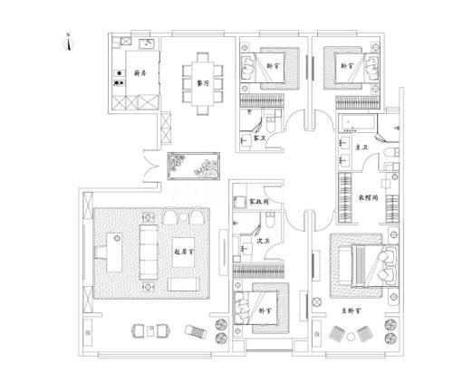 泰禾济南院子5室2厅3卫-230m²-1