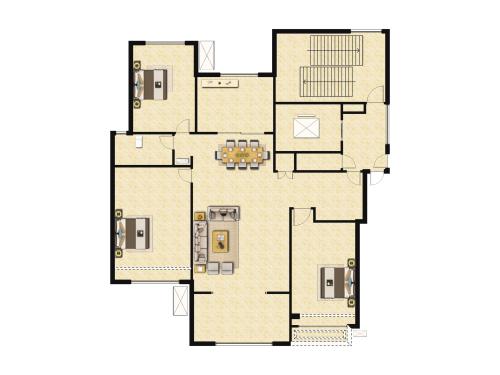 万科翡翠山语3室2厅1卫-110m²-2