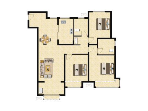 万科翡翠山语3室2厅2卫-130m²-3