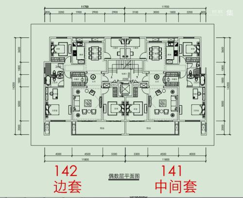 新松华鸿·国樾府洋房142