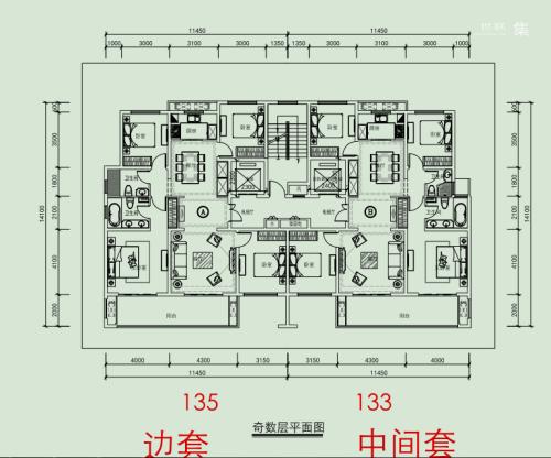 新松华鸿·国樾府二类高层T2