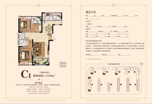 颍上成美·翡翠公馆C1
