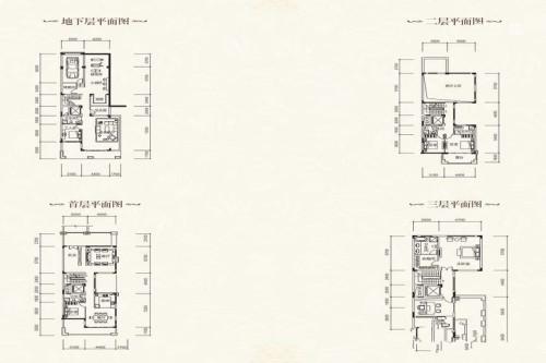蓝山锦湾三期5室2厅5卫1厨