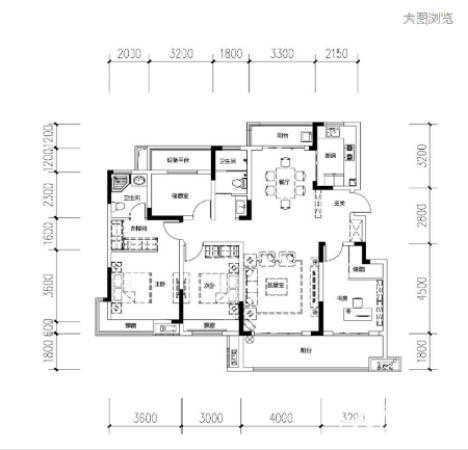 亳州海晶西湖春天洋房140