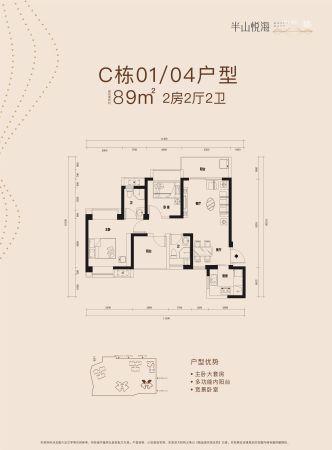 半山悦海花园C栋01/04