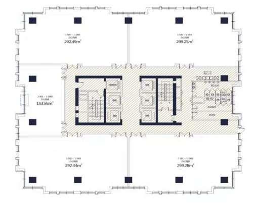 兰州西港星汇国际写字楼户型图