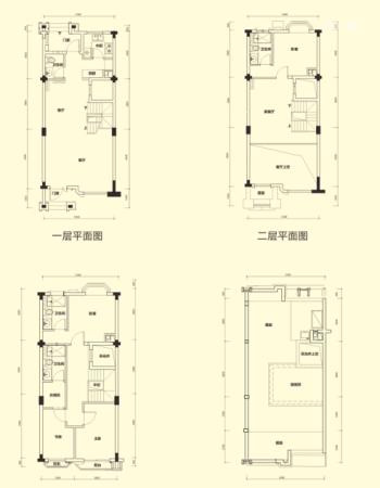 金地时代艺境173褐石别墅
