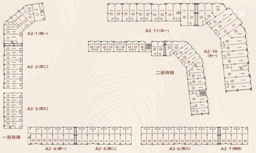 绿洲家园40-130m²临街商铺