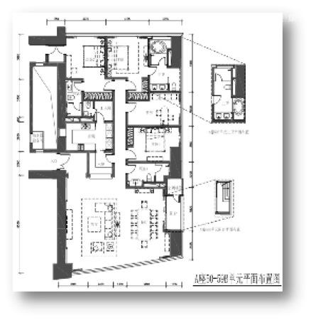 东海国际公寓300平高空大平层