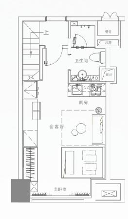 西安保利心语花园K2立方5.4米LOFT