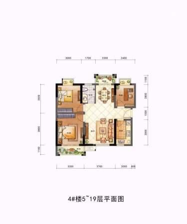 夏商新纪元B户型——浪漫馨品